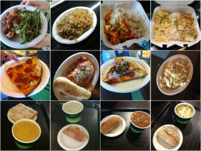 Menu match restaurant specific food logging from images a sample of the food images we can recognize from our three restaurant dataset forumfinder Images